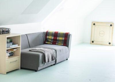 ungdomsklubben sofa