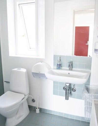 Lejlighed toilet wide