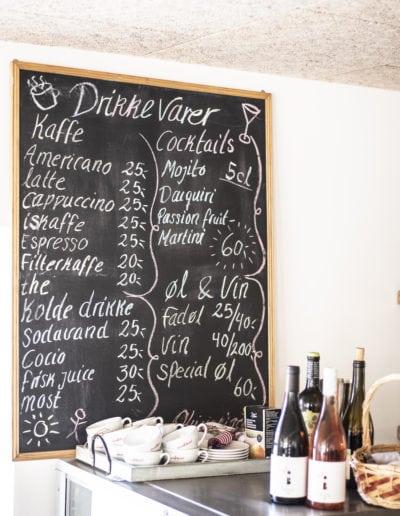 Café skilt